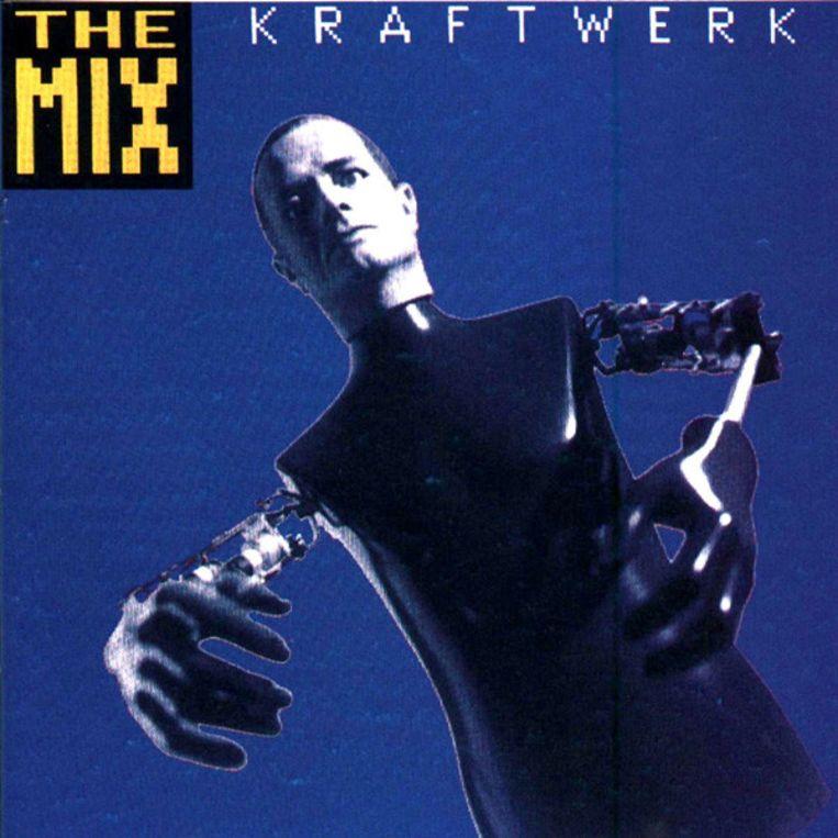 Kraftwerk - The Mix, originele hoes uit 1991 Beeld RV