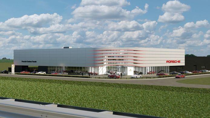 Het Porsche Centrum Twente verhuist van Enter naar een splinternieuw pand in Deventer.