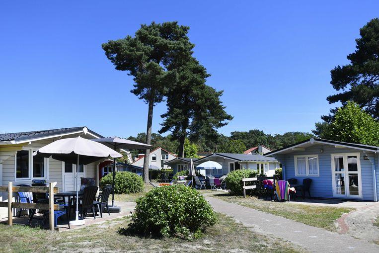 Vakantiehuisjes in Resort Arcen. Beeld ANP