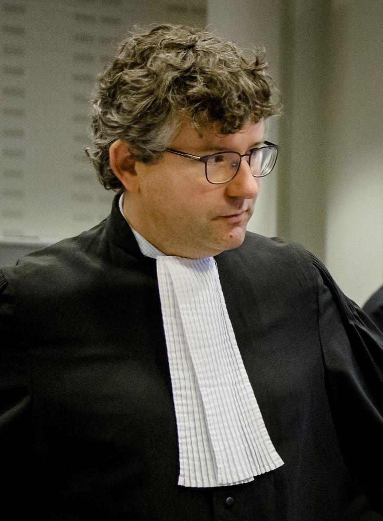 Advocaat Marnix Leijten vertegenwoordigt de gedupeerde aandeelhouders van het olieconcern tijdens de rechtszaak. Beeld anp