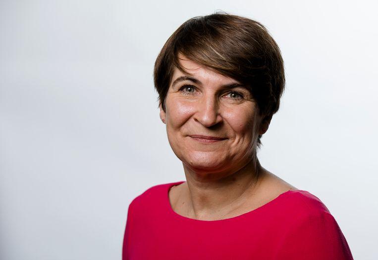 Lilianne Ploumen maakt ook een grote kans en zou wel de ambitie hebben PvdA-leider te worden.  Beeld Bart Maat / ANP