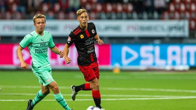 Jong PSV mist scorend vermogen tegen Excelsior en gaat in slotfase nog hard onderuit