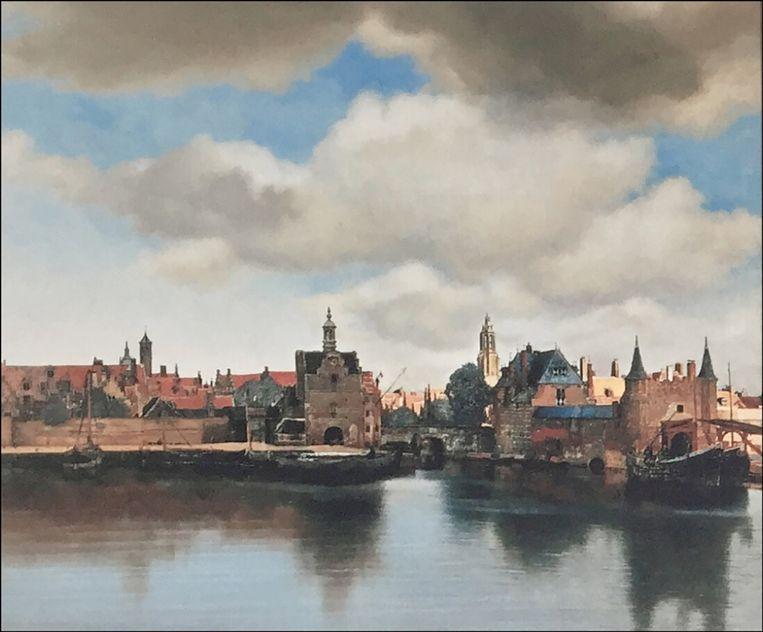 Gezicht op Delft, maar dan de versie van Ton van Os (zie kader). Beeld Ton van Os