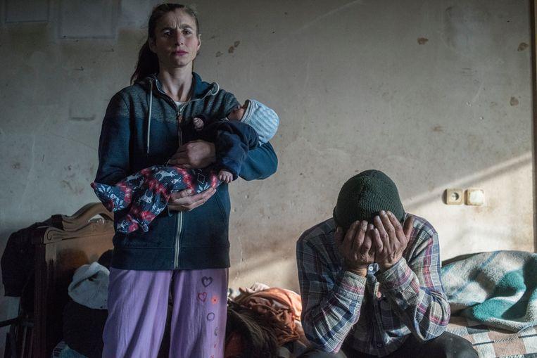 Valeri Melnikov, Rusland: 'Leaving Home in Nagorno-Karabakh', gemaakt voor Sputnik (genomineerd in de categorie Photo of the Year). Beeld