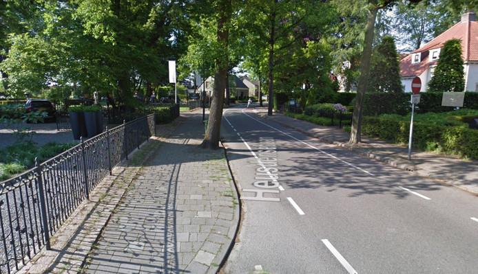 Hoek Heusdensebaan en Schijfstraat.