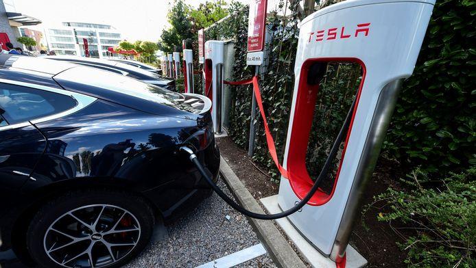 De superbatterij van Tesla, dé Amerikaanse producent van elektrische wagens.