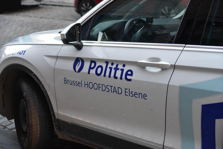 Politie Brussel Hoofdstad Elsene politievoertuig