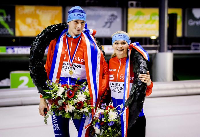 Simon Schouten en Irene Schouten.