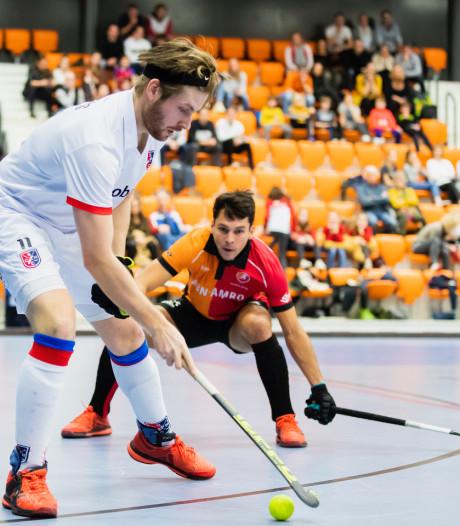 Mannen Oranje-Rood verliezen van SCHC en worden geen landskampioen in de zaal