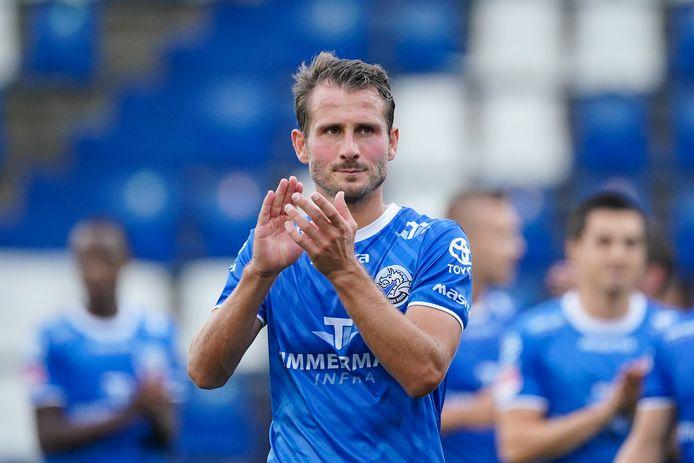 Paco van Moorsel ontbreekt dinsdagavond in de thuiswedstrijd van FC Den Bosch tegen MVV.
