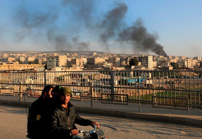 De stad Afrin.