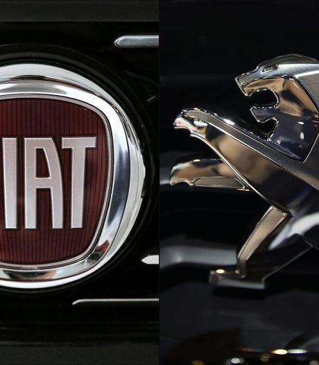 Officieel akkoord: Peugeot en Fiat Chrysler fuseren