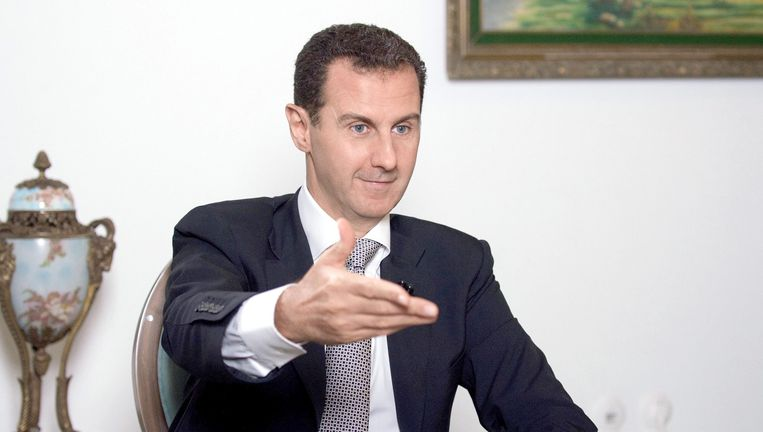 Volgens een onlangs gepresenteerd VN-rapport heeft het leger van president Bashar al-Assad in april 2014 en maart 2015 in de provincie Idlib ook chloorgas gebruikt. Beeld EPA