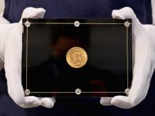 Gouden Amerikaanse munt levert 15,5 miljoen euro op