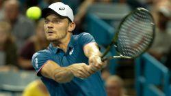 Goffin knokt zich na hevige strijd met Del Potro naar halve finales Cincinnati, Federer de volgende horde?
