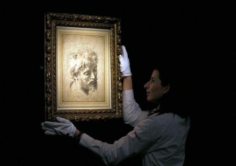 Een tekening van Rafael wordt geveild in Londen. Foto ter illustratie. Beeld AP
