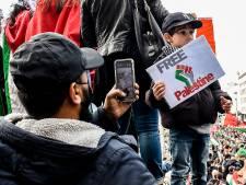 500 personnes rassemblées à Liège lors d'une manifestation pro-palestinienne