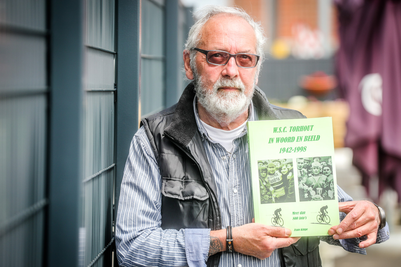 Frans Kimpe schreef een boek over WSC Torhout, geïllustreerd met meer dan 800 foto's uit de oude doos.
