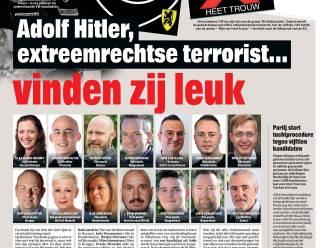 Adolf Hitler, extreemrechtse terrorist... vinden zij leuk