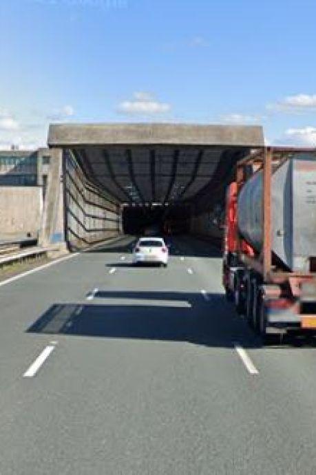 Noordtunnel (A15) dit weekend dicht, dus omrijden: ongeveer 30 minuten extra reistijd