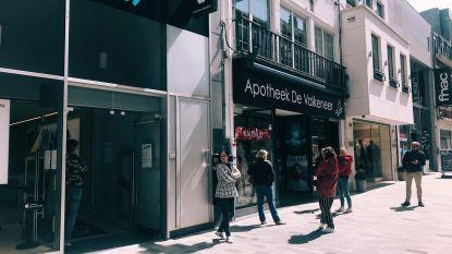 """Overrompeling is het niet geworden, maar wel wachtrijen gespot aan Apple-winkel, H&M en Kruidvat: """"Ik heb dringend oortjes nodig voor mijn iPhone"""""""