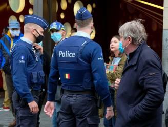 161 coronaboetes per dag uitgedeeld in Brussel