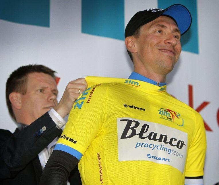 Wagner behoudt de gele trui. Beeld PHOTO_NEWS