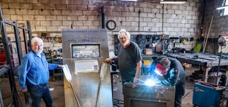Brabants brood voor Holland: Staalmannen maken monument over broodcrossings in Biesbosch