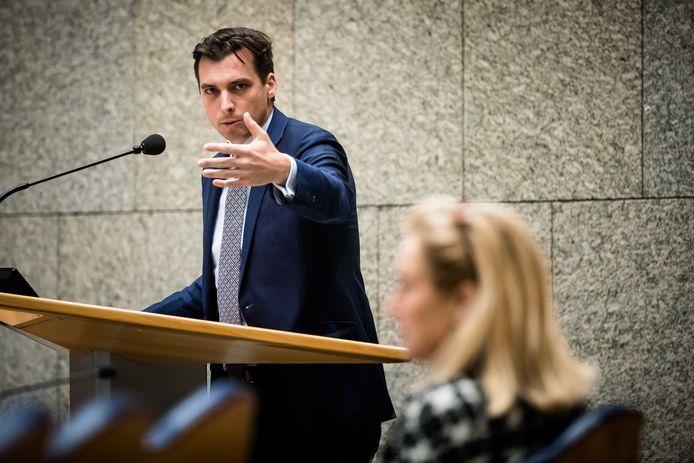 Thierry Baudet in de Tweede Kamer