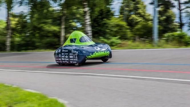 Delftse studenten verbreken record van Toyota: 1196 kilometer lang rijden op waterstof