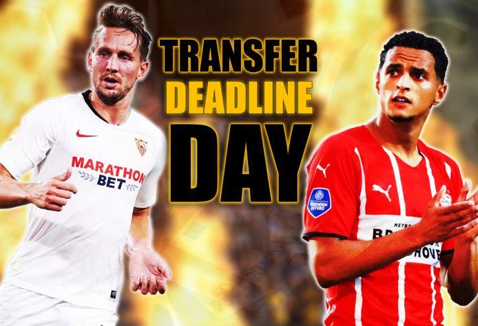 Luuk de Jong en Mohamed Ihattaren waren twee van de spelers die nog een nieuwe club vonden op Deadline Day.