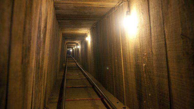 De bewuste tunnel. Beeld ap