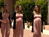 """Drieling gelijktijdig zwanger tijdens 'Covid-boom': """"We hebben de oudste moeten overtuigen!"""""""