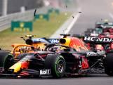 Glibberen en glijden bij start F1: Bottas glijdt eraf en kegelt Norris, Pérez en Max van de baan