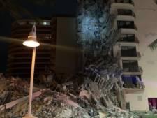 Effondrement partiel d'un immeuble de plusieurs étages près de Miami Beach