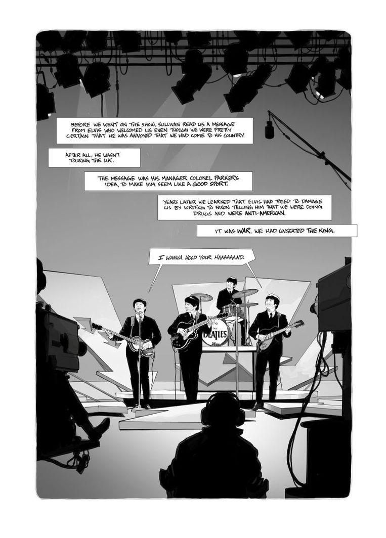 Lennon: The New York Years - door Foenkinos, Corbeyran, Horne. IDW, San Diego, 2017. Hardcover. Beeld rv