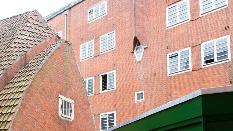 Van de 82 woningen in Het Schip blijven er 62 sociaal Beeld Mo Barends
