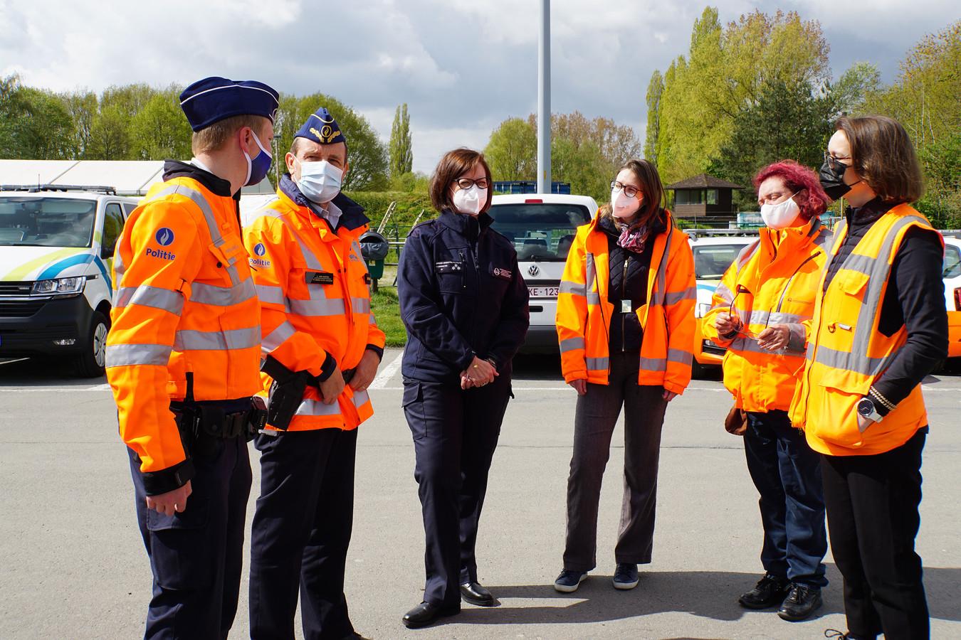 De politie hield met FOD Mobiliteit en Verkeer donderdag een actie op zwaar vervoer.