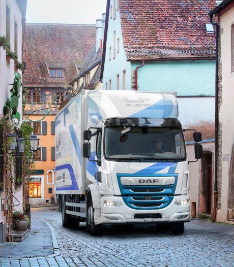 DAF introduceert ook lichte variant van elektrische truck