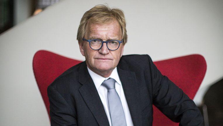 Hans de Boer, voorzitter van VNO NCW (grootste werkgeversorganisatie in Nederland). Beeld Julius Schrank