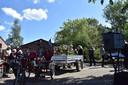 Begrafenis met de duofiets in Erp.