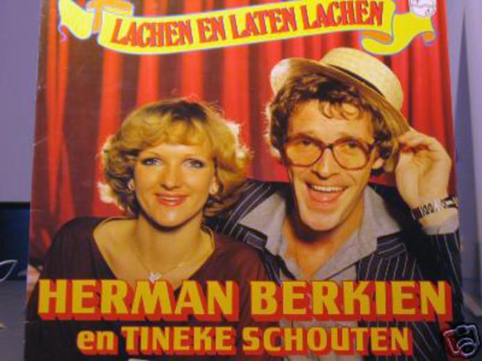 Met Herman Berkien in 'Lachen en laten lachen'.