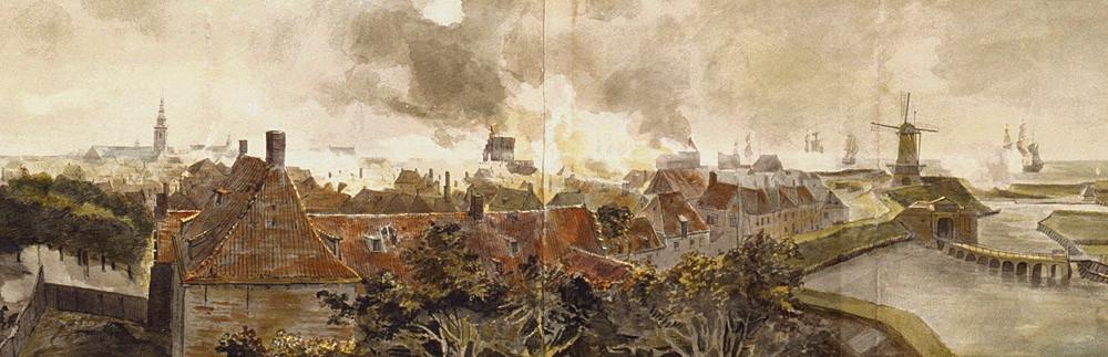 Fragment van het panorama van Vlissingen