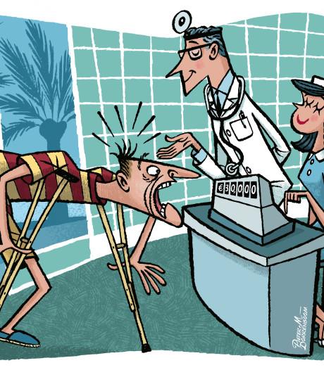 Blindedarmontsteking op vakantie in VS kost je 50.000