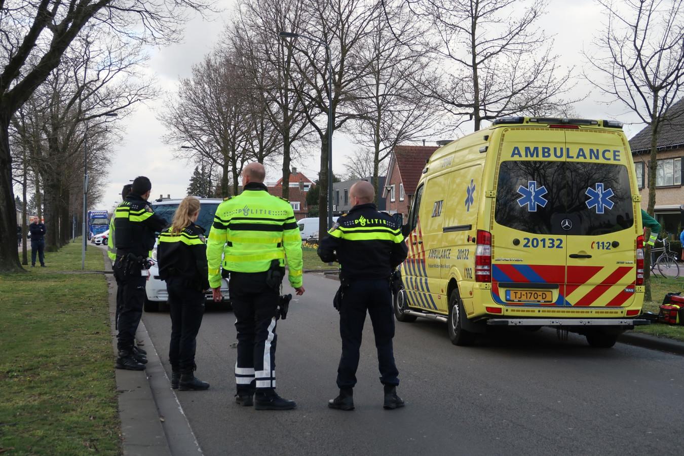 Een jongetje werd vrijdag aangereden door een bestelbusje in Teteringen.
