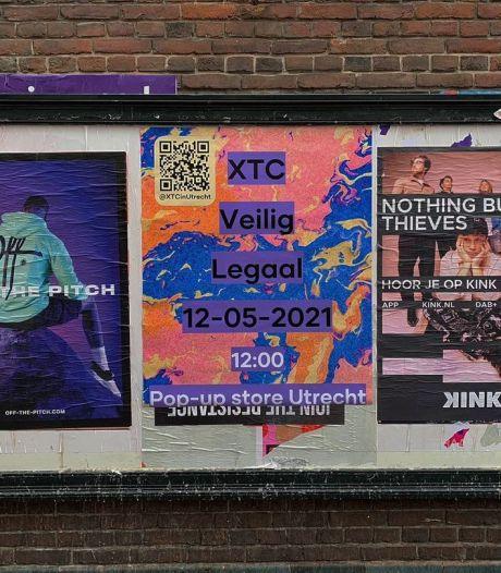 Pop-upwinkel waar je 'xtc' kunt kopen opent in binnenstad van Utrecht