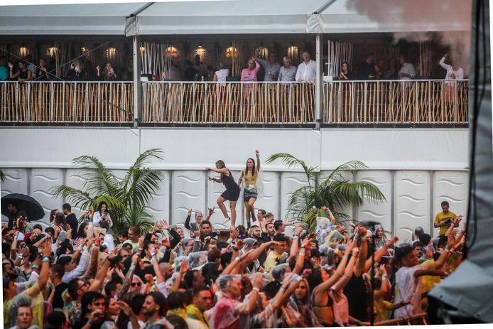 Muziekfestival Ostend Beach in Oostende, een van de grootste evenementen deze zomer.