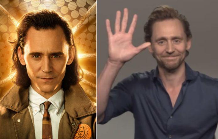 We spraken met Tom Hiddleston over 'Loki'.