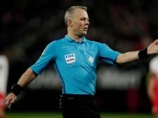Björn Kuipers fluit zaterdag de topper AZ - Willem II