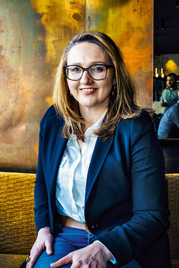 Burgemeester Gwendolyn Rutten (Open Vld).